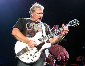 Gibson ES-335 - Alex Lifeson of Rush playing an ES-355