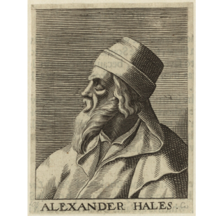 Alexander of Hales English Franciscan theologian and philosopher (c.1185-1245)