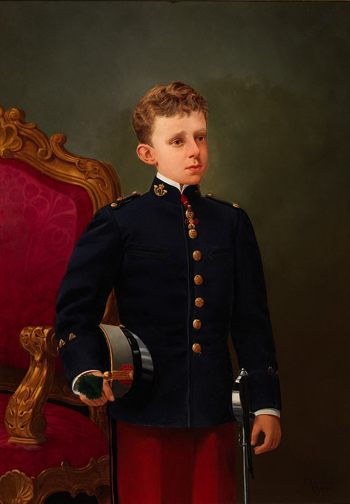 File:Alfonso XIII de España, por Enrique Rumoroso (Museo ...
