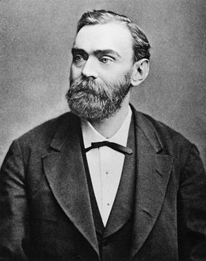 Nobelium - The element was named after Alfred Nobel.