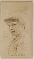 Alice Evans, from the Actors and Actresses series (N45, Type 8) for Virginia Brights Cigarettes MET DP831673.jpg