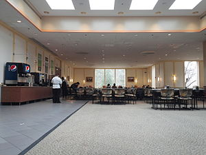 Students' Building (Vassar College) - The west dining wing of the Students' Building