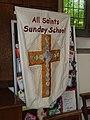All Saints, Eastleigh- Sunday School banner - geograph.org.uk - 2708883.jpg