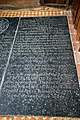 All Saints Church West Stourmouth Kent England ~ Thomas Beake and Elizabeth Beake Ledger stone slab.jpg