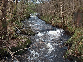 Allander Water - Allander Water near Milngavie