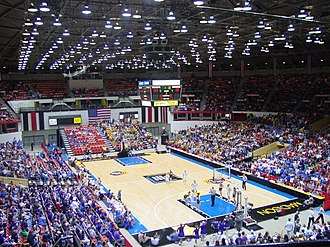Alliant Energy Center - The Coliseum during the 2004 WIAA Girl's State Basketball Tournament
