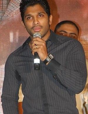 Allu Arjun - Arjun at the audio launch of Eeram