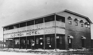 Aloomba, Queensland - Aloomba Hotel, Aloomba, circa 1925