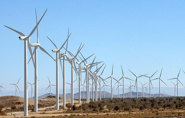 Veterné turbíny na výrobu elektrickej energie z vetra