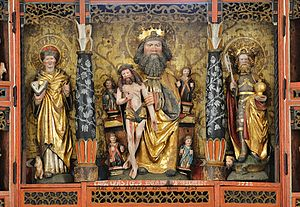 Linde Church - Altarpiece (1521)