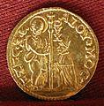 Alvise mocenigo II, mezzo zecchino, 1700-09.jpg