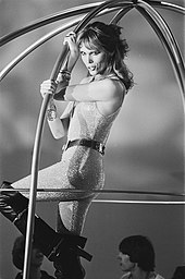 Amanda Lear nel programma TV olandese Disco Show (1978)
