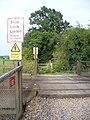 Amberley Level Crossing - geograph.org.uk - 546962.jpg