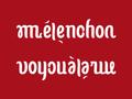 Ambigramme Mélenchon Voyou à la rue.png