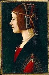 Giovanni Ambrogio de Predis: Portrait of a Lady