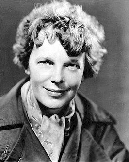 Амелия Эрхарт в 1935 году