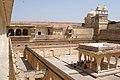 Amer Fort, Courtyard, India.jpg