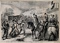 American Civil War officers saluting the wounded being broug Wellcome V0015312.jpg