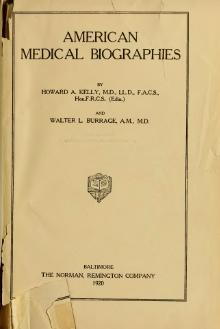 American Medical Biographies - Kellly, Burrage.djvu