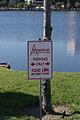 Amphicar Parking Sign Lake Mirror Cassic 16Oct2010 (14690661960).jpg