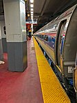 Amtrak train to Boston at Penn Station New York.jpg