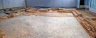 La Olmeda - Image: Ancient Roman thermae Villa Romana La Olmeda 003 Pedrosa De La Vega Saldaña (Palencia)