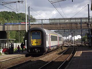 Belgian railway line 125 railway line in Belgium