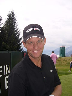 Anders Hansen professional golfer