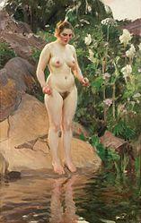 Anders Zorn: Archipelago flower