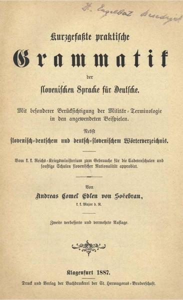 File:Andrej Komel - Kurzgefaßte praktische Grammatik der slovenischen Sprache für Deutsche.pdf