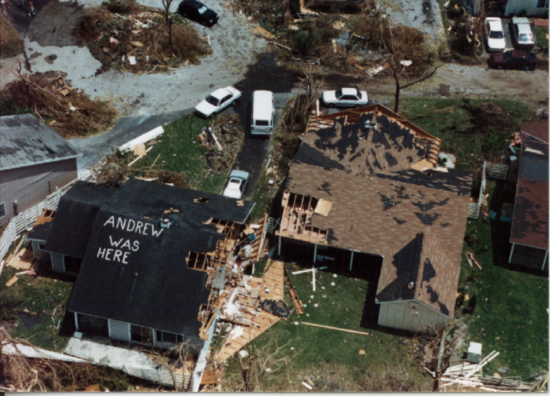Hurricane Andrew Was Here
