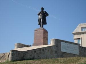 Anghel Saligny - Anghel Saligny statue in Constanţa