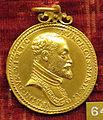 Anonimo, medaglia di francesco maria II della rovere, post 1608, oro.JPG
