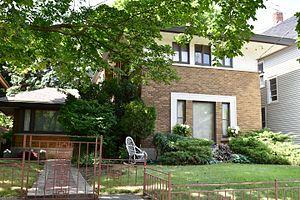 National Register of Historic Places listings in Kenosha County, Wisconsin - Image: Anthony & Caroline Iserman House