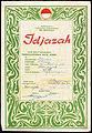 Anti-illiteracy certificate, Soemaijah (1953-10-25).jpg