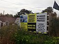 Anti Brexit Meeting Posters on the R173 in Co Louth (geograph 5565097).jpg