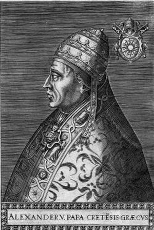 Antipope Alexander V - Antipope Alexander V (1409–1410)
