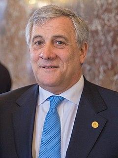 Antonio Tajani Italian politician
