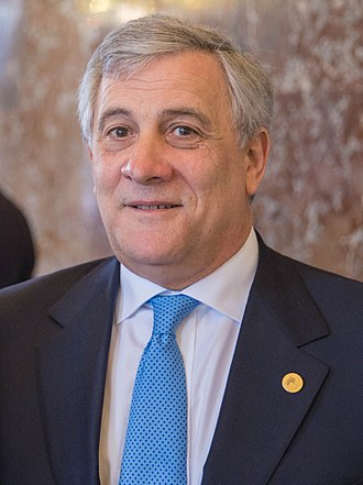 President of the European Parliament - Image: Antonio Tajani March 2017