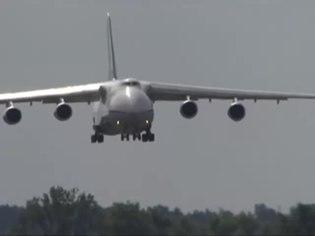 File:Antonov An-124 Ruslan landing at Gostomel Airport.webm