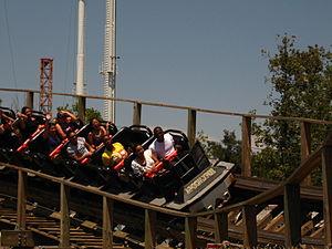 Apocalypse: The Ride - Image: Apocalypse at Six Flags Magic Mountain
