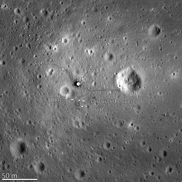 apollo 14 landing site - 640×640