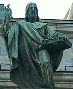 Apostle Jacob on St.Isaac cathedral (SPb).jpg