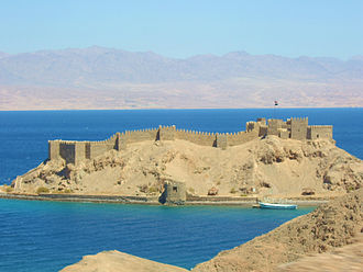 Red Sea Riviera - Crusaders' citadel on Pharaoh's Island