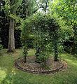 Arbour with trellis Gibberd Garden Essex England.JPG