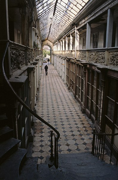 Arcade in Autun, Passage Balthus/Passage de la Halle