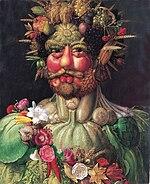 """""""Vertemnus"""", a portrait of Rudolf II"""