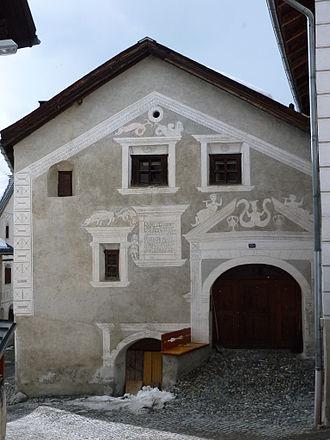 Byre-dwelling - Engadine house in Ardez