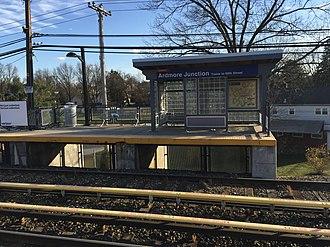 Ardmore Junction station - Ardmore Junction station in 2017