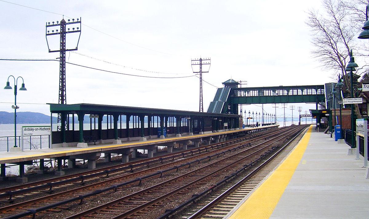Exterior: Ardsley-on-Hudson Station